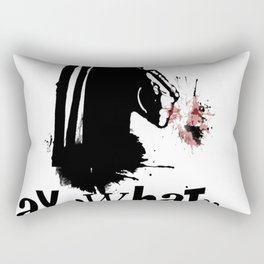 Say What One More Time! Rectangular Pillow
