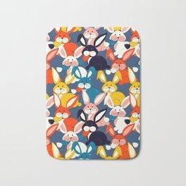 Rabbit colored pattern no2 Bath Mat