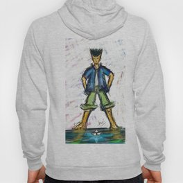 Paper Boater Hoody