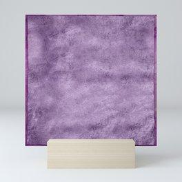 Violet wall Mini Art Print
