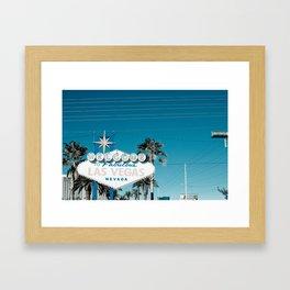 las vegas (five) Framed Art Print
