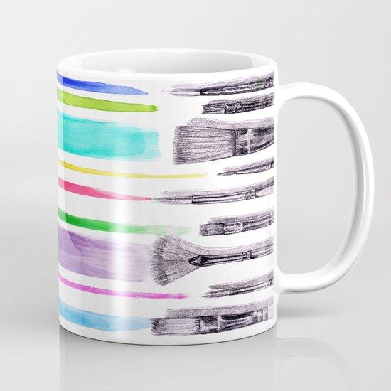 Paint brushes Mug