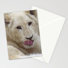 White Lion Cub - The Next Generation! Stationery Cards