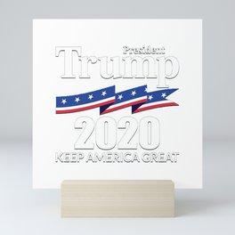 President Trump 2020 Mini Art Print
