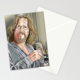 The Dude Abides- White Russian Stationery Cards