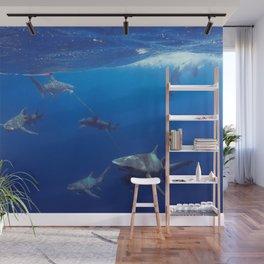 Shark Squad Wall Mural