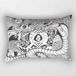 Beasting Delux Mode Rectangular Pillow