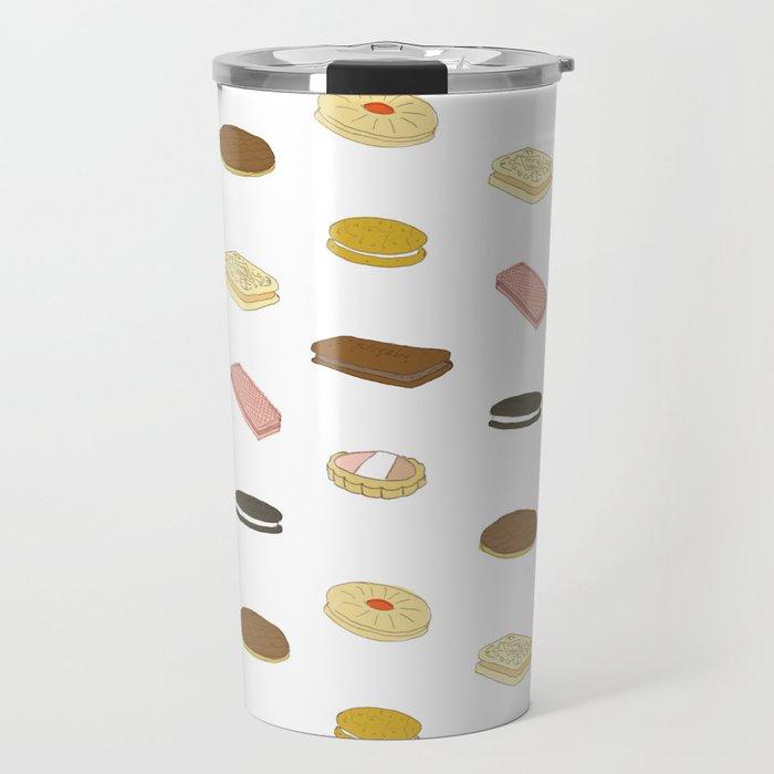 biscui - biscuit pattern Travel Mug