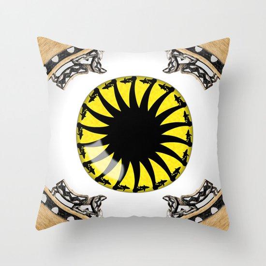 Bonito Eye Throw Pillow