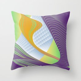 bulb slap Throw Pillow