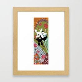 """""""Bob & Clémence""""(from Klimt) Framed Art Print"""