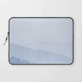 Atmospheric Snow Laptop Sleeve