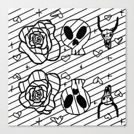 Dry Bones Come Alive #3 Canvas Print
