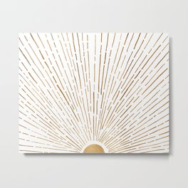 Let The Sunshine In Metal Print