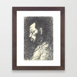 Ornette Coleman Framed Art Print