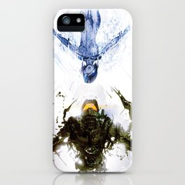Who's the Machine? iPhone Case