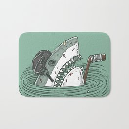 The Enforcer Shark Bath Mat