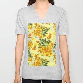 Pineapples Explosion #society6 #pineapples Unisex V-Neck