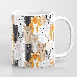 Friendly Foxes Coffee Mug