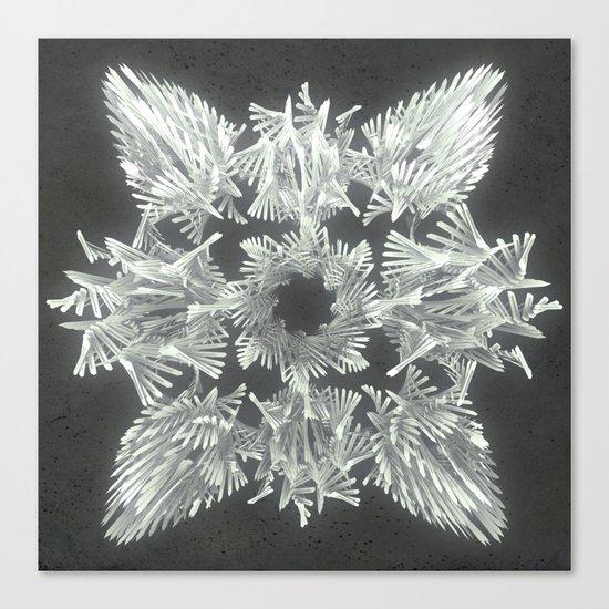 A Winged Debacle Canvas Print