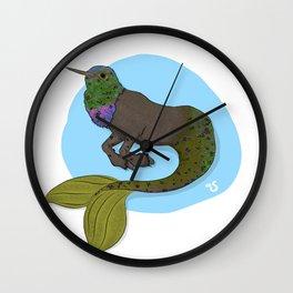 Humming Hypocampus Wall Clock