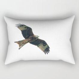 Red Kite in flight Rectangular Pillow