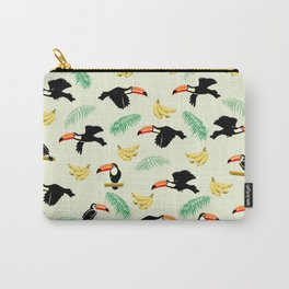 Toucan tropical pattern Carry-All Pouch