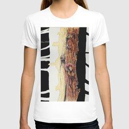 Tree trunks T-shirt
