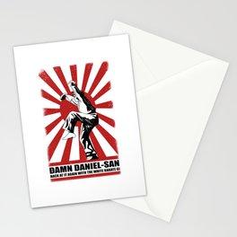 Damn Daniel-san Stationery Cards