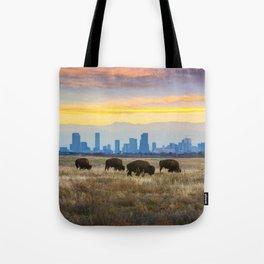 City Buffalo Tote Bag