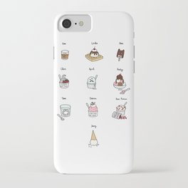 Parks and Rec Ice Cream iPhone Case