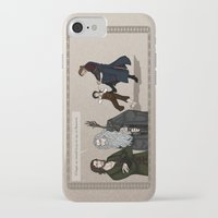 aragorn iPhone & iPod Cases featuring Sneaking Suspicion by wolfanita