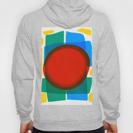 Minimal Abstract Art Design Hoody