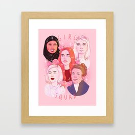 GIRL SQUAD Framed Art Print