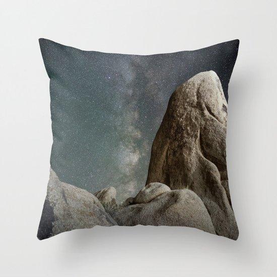 Night Adventures #milkyway Throw Pillow