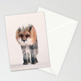 hondo kitsune Stationery Cards