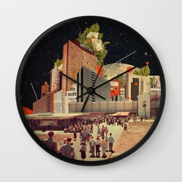 Software Road Wall Clock