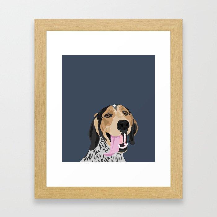 Roger Framed Art Print
