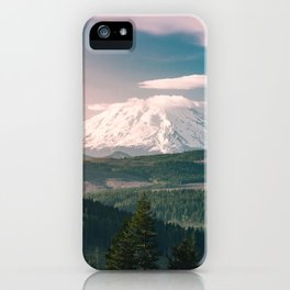 Saints and Sinners - 126/365 Nature Photography Mount St. Helens iPhone Case