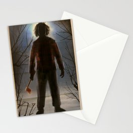 The Flannel Shirt Massacre Stationery Cards