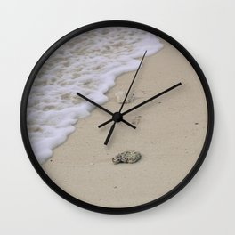 Water over Sand Wall Clock