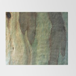 Eucalyptus Tree Bark 6 Throw Blanket