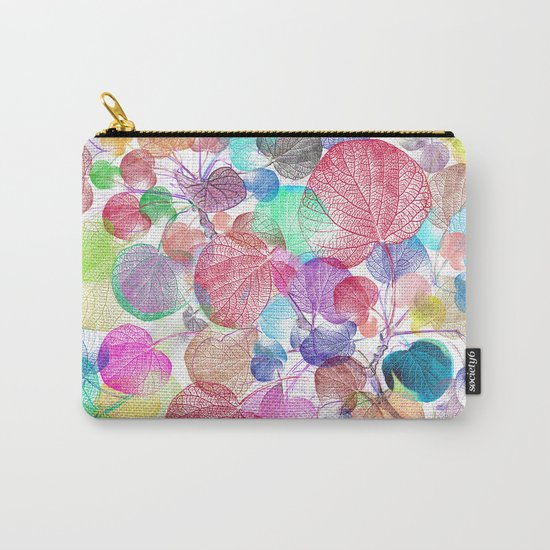 Leaf mosaic(28) Carry-All Pouch
