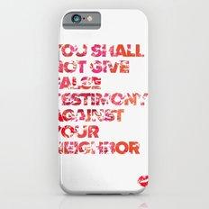 The Ninth Commandment iPhone 6s Slim Case