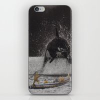 orca iPhone & iPod Skins featuring Orca by Lerson