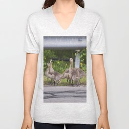 Canadian Goslings Unisex V-Neck