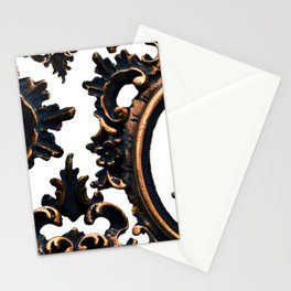 Frames on White. Stationery Cards