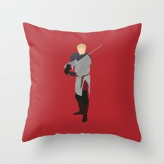 Arthur Pendragon, Merlin Throw Pillow
