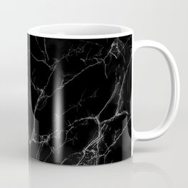 Black Marble Coffee Mug