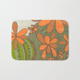 A Flower Does Not Think of Competing...(Grow Free Series) Bath Mat